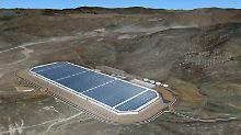 Großes Vorbild aus Amerika: die Tesla-Gigafactory.