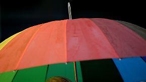 Wechselhafter Sonntag: Schauer überziehen Deutschland