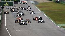 Rosberg verschenkt die Pole: Lewis Hamilton gewinnt GP von Deutschland