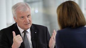 Eigenständiger CSU-Wahlkampf möglich: Seehofer schließt erneute Spitzenkandidatur nicht aus