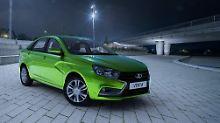 Neue Limousine mit Potenzial: Lada Vesta soll deutschen Markt erobern
