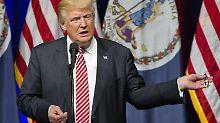 Geschrei im Wahlkampf: Trump: Ihr könnt das Baby rausschaffen