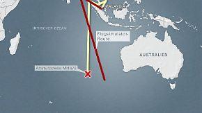 Theorie belastet Piloten: Experte: MH370 wurde absichtlich ins Meer gesteuert