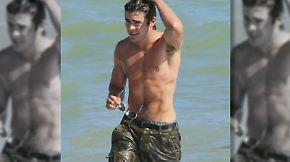 Promi-News des Tages: Keine Frau will Zac Efron daten