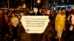 Proteste in Rio de Janeiro: Olympische Sommerspiele beginnen mit viel Tamtam und Tränengas