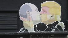 Wladimir Putin und Donald Trump sind Brüder in Geist und Sprache.