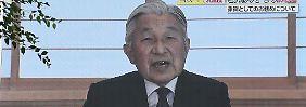 Seine Kräfte verlassen ihn: Japans Kaiser will offenbar abdanken