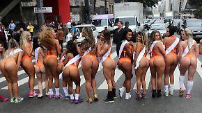 """""""Miss BumBum""""-Wahl in São Paulo: Brasilien sucht den knackigsten Hintern der Nation"""