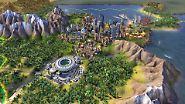 Die Königin der Rundenstrategie regiert nun Städte, die sich über mehrere Hexfelder ausbreiten können.