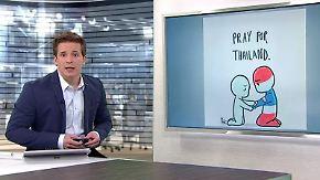n-tv Netzreporter: #PrayForThailand macht die Runde im Netz