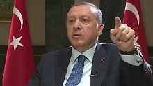 """Recep Tayyip Erdogan im Interview: """"Ich glaube nicht an die deutsche Justiz"""""""