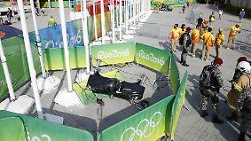 Mehrere Verletzte im Olympiapark: Seilkamera knallt aus 20 Metern auf den Boden