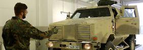 Gewehre, Raketen, Fahrzeuge: Bundeswehr liefert Kurden wieder Waffen