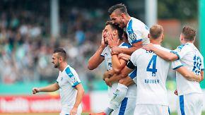 David gegen Goliath beim DFB-Pokal: Drittligist SF Lotte will Leverkusen knacken