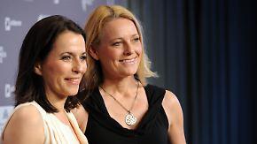 Promi-News des Tages: Anne Will heiratet Lebensgefährtin Miriam Meckel