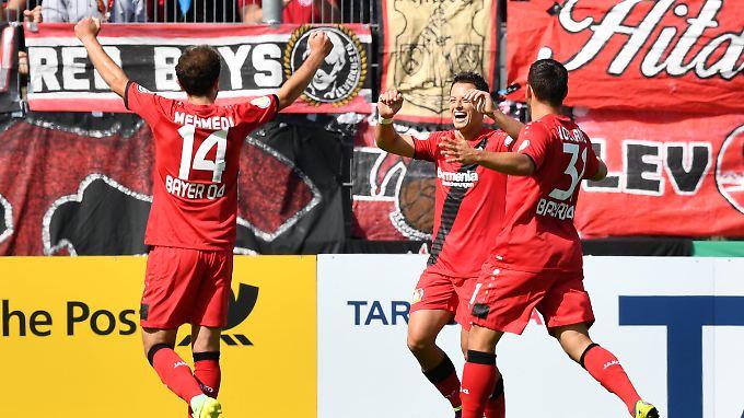 Leverkusen könnte den stärksten Kader seit den Jahren unter Jupp Heynckes haben.