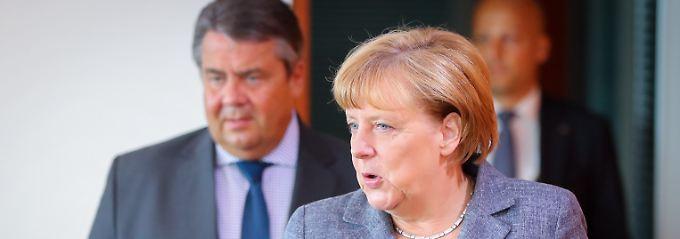 Sigmar Gabriel will mit seiner SPD wieder den Kanzler stellen.