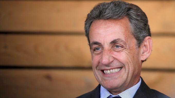 Sarkozy war von 2007 bis 2012 Frankreichs Präsident.