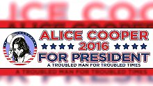 Konkurrenz für Clinton und Trump: Rockmusiker Cooper startet Präsidentschaftskampagne