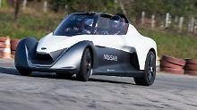 In unter fünf Sekunden soll der Nissan Blade-Glider aus dem Stand auf Tempo 100 beschleunigen.