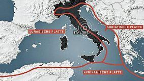 Riesige Platten in ständiger Bewegung: Wie ein Erdbeben entsteht