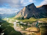 Grenze der Zivilisation: Das Basecamp des Torngat National Parks ist nur mit dem Hubschrauber erreichbar. Foto:New Foundland & Labrador Tourism