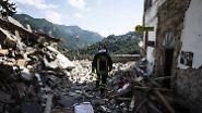Nachbeben lässt Häuser einstürzen: Tod, Verzweiflung, Chaos und kleine Wunder in Italien