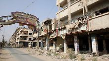 Syrische Armee lockert Belagerung: Bewohner und Rebellen verlassen Daraja