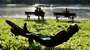 Nachmittags erste Hitzegewitter: Ganz Deutschland schwitzt bei brütender Hitze