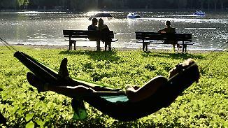 Nachmittags erste Hitzegewitter: Ganz Deutschland schwitzt unter brütender Hitze