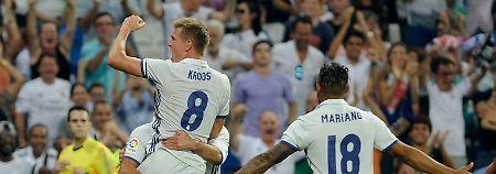 Kroos trifft zum Sieg: Real gewinnt, Atlético patzt