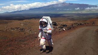 """""""Rückkehr"""" auf die Erde: Forscher beenden Mars-Experiment nach einem Jahr auf Hawaii"""