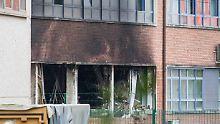 Brand am Brüsseler Kriminallabor: Ermittler: Kriminelle stecken hinter Anschlag