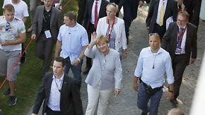 Wird sie als Kanzlerin kandidieren?: Angela Merkel lässt sich bewusst Zeit