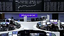 Wall Street schließt im Minus: Weichende Zinsangst lässt Dax steigen