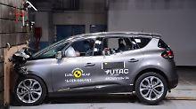 Mal so, mal so: EuroNCAP crasht vier neue Modelle