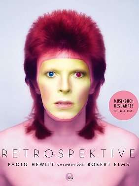 """""""Bowie - Retrospektive"""" ist bei Edel Books erschienen; Taschenbuch, 288 Seiten; 19,95 Euro."""