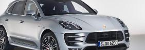 Frisch aus dem Trainingslager: Unter anderem mehr Leistung, strammeres Fahrwerk und bessere Bremsen soll das neue Performance Package für den Porsche Macan Turbo bieten. Foto:Porsche