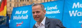 Bundestagswahl im September: AfD-Landeschef tritt in Merkels Wahlkreis an