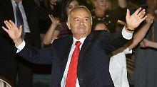 Über Jahre auch Partner des Westens: Islam Karimow.