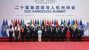 Schwächelnde Weltwirtschaft: G20-Gipfel setzt ein Zeichen - auch ohne konkrete Lösung