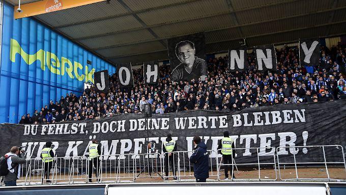 """In Darmstadt wird Jonathan """"Johnny"""" Heimes so schnell nicht vergessen."""