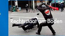Antifa knüppelt Rechtsstaat nieder: AfD blamiert sich mit gefälschtem Foto