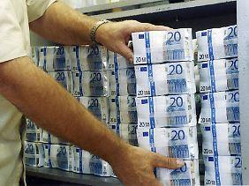 Möglicherweise reichen 22 Mrd. Euro Bareinlage nicht.