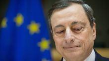 """""""Draghi bleibt eine Antwort schuldig"""": EZB-Chef muss Geldpolitik verteidigen"""