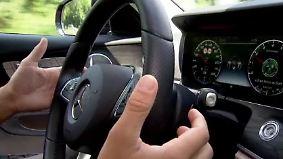 """Zweiter Blick auf die Mercedes E-Klasse: Was der """"Drive Pilot"""" leisten kann - und was nicht"""