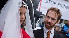 Zahl der Zwangsehen gestiegen: In Deutschland leben 361 verheiratete Kinder