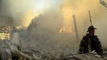 Bei den Anschlägen kamen auch viele  Feuerwehrleute ums Leben.