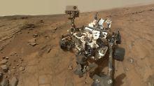 Risse im Rad und andere Zipperlein: Mars-Rover sind reif für den Ruhestand