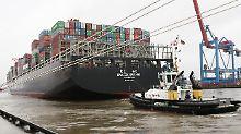 Wann die Fracht der Hanjin Europe im Hamburger Hafen gelöscht wird, ist nicht bekannt.